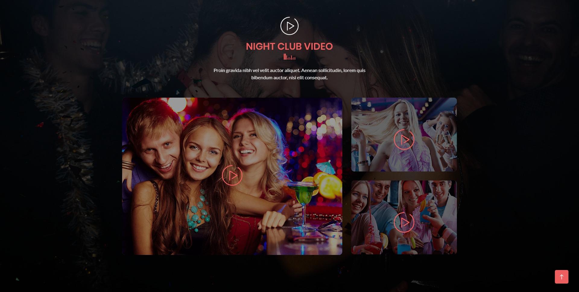 Domex-酒吧夜店网站WordPress主题模板