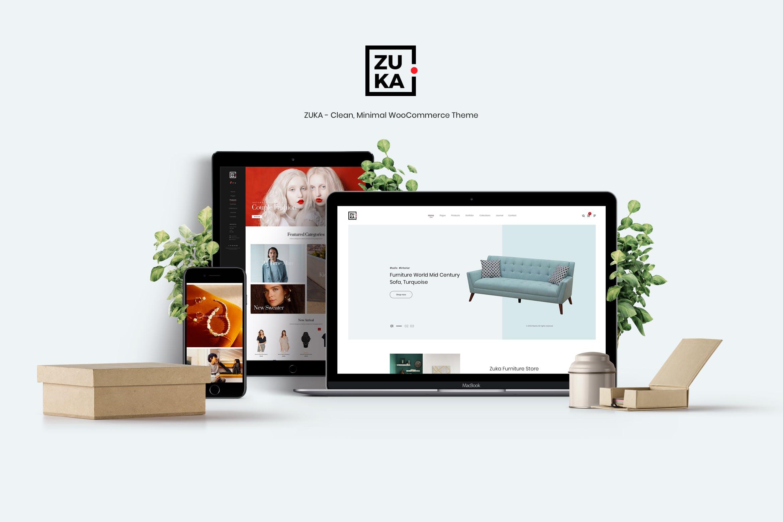 Zuka - 清新商城WordPress主题模板