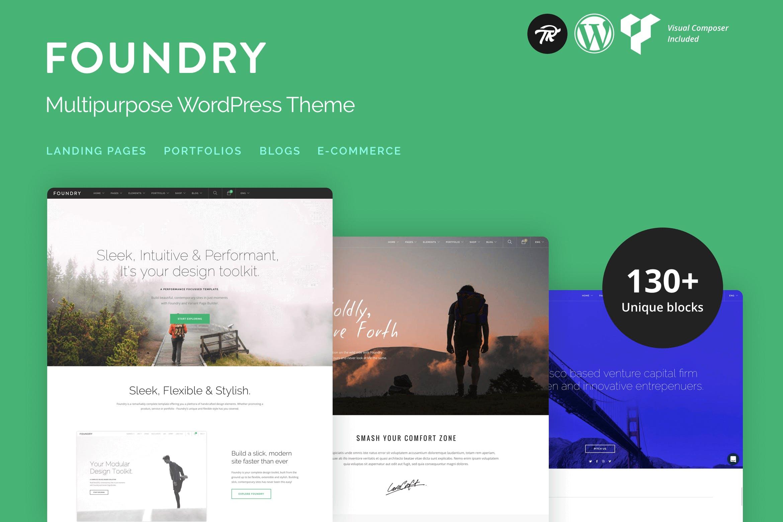 Foundry - 多用途响应式WordPress主题模板