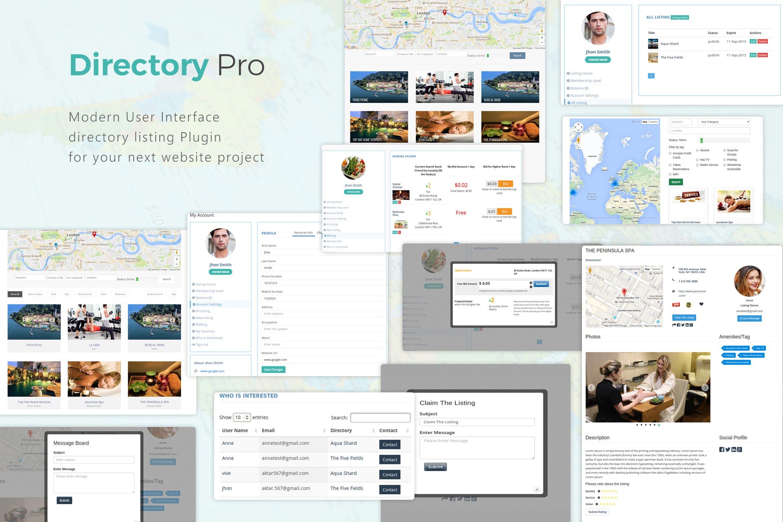 可自定义地图位置标记目录WordPress插件