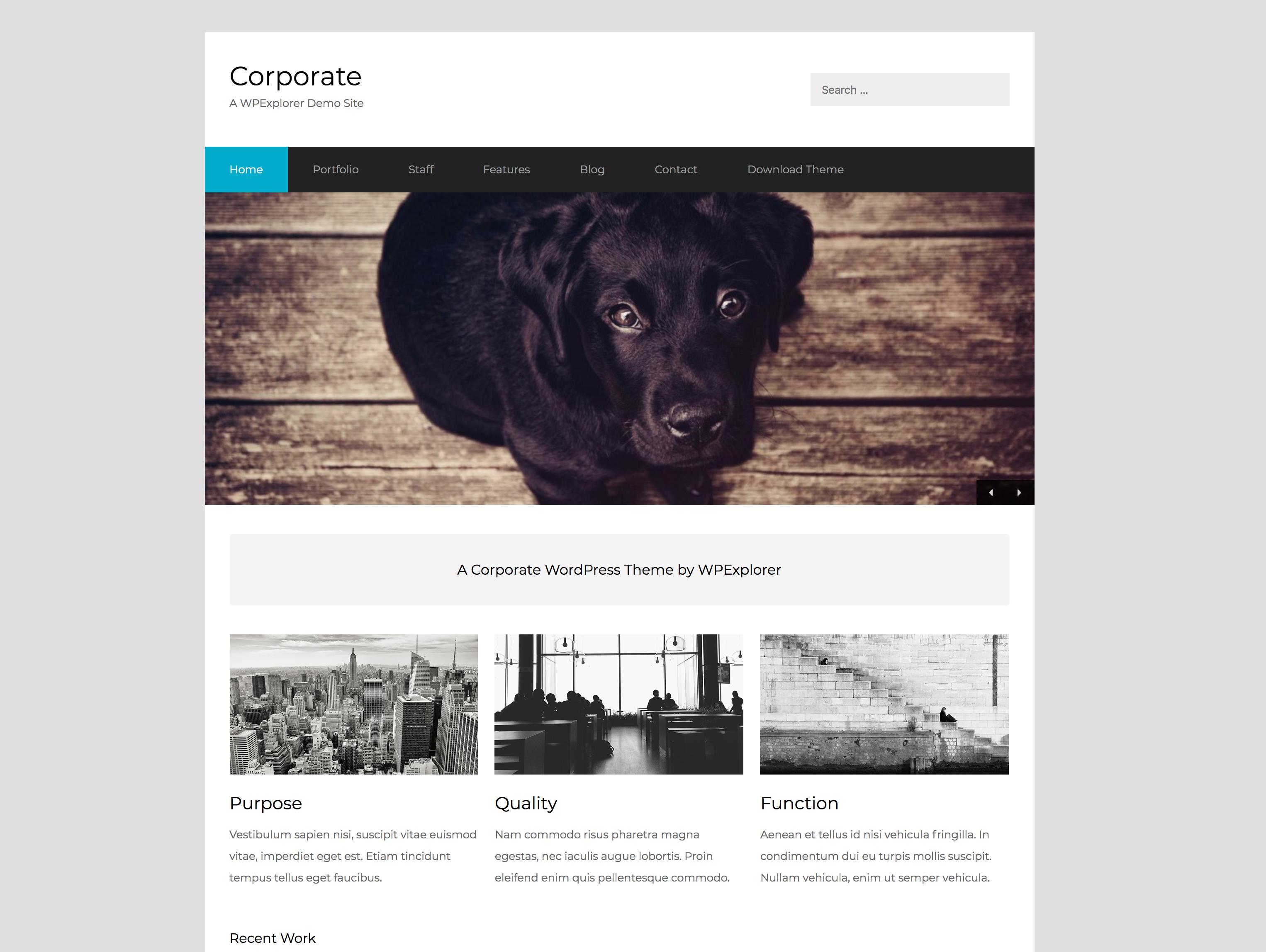 企业商业响应式WordPress主题模板