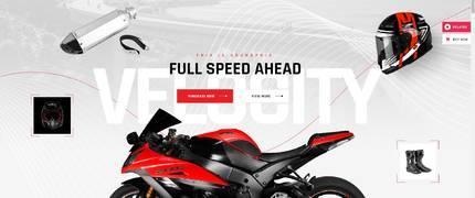 GrandPrix- 摩托车赛车配件设备WordPress主题