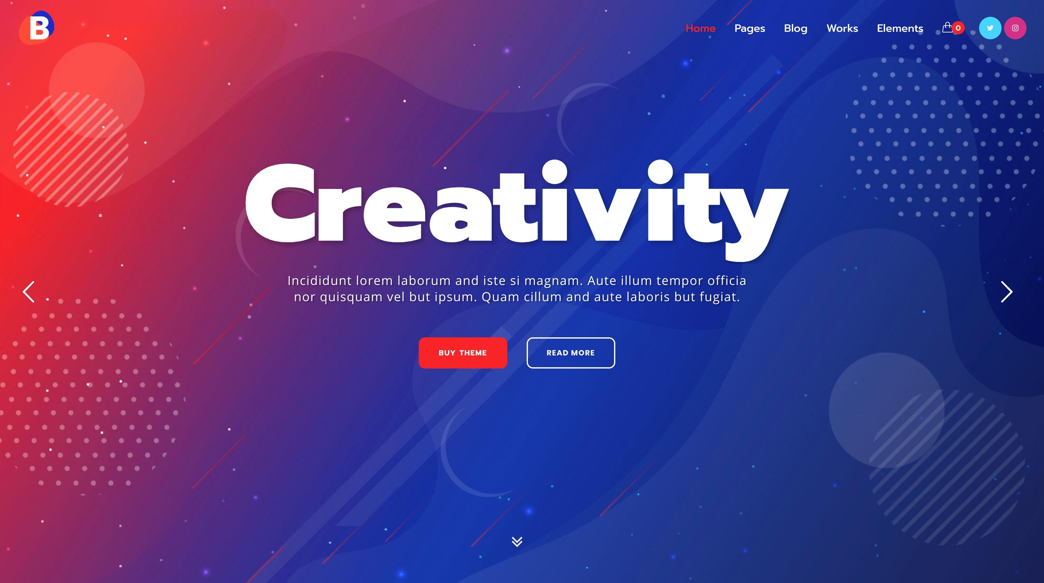 Blobie-创意企业公司商务WordPress主题