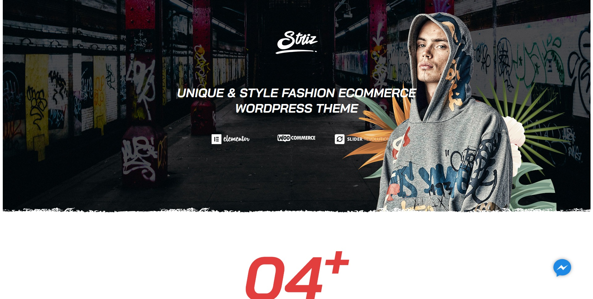 Striz-时尚潮牌服饰在线商城WordPress主题