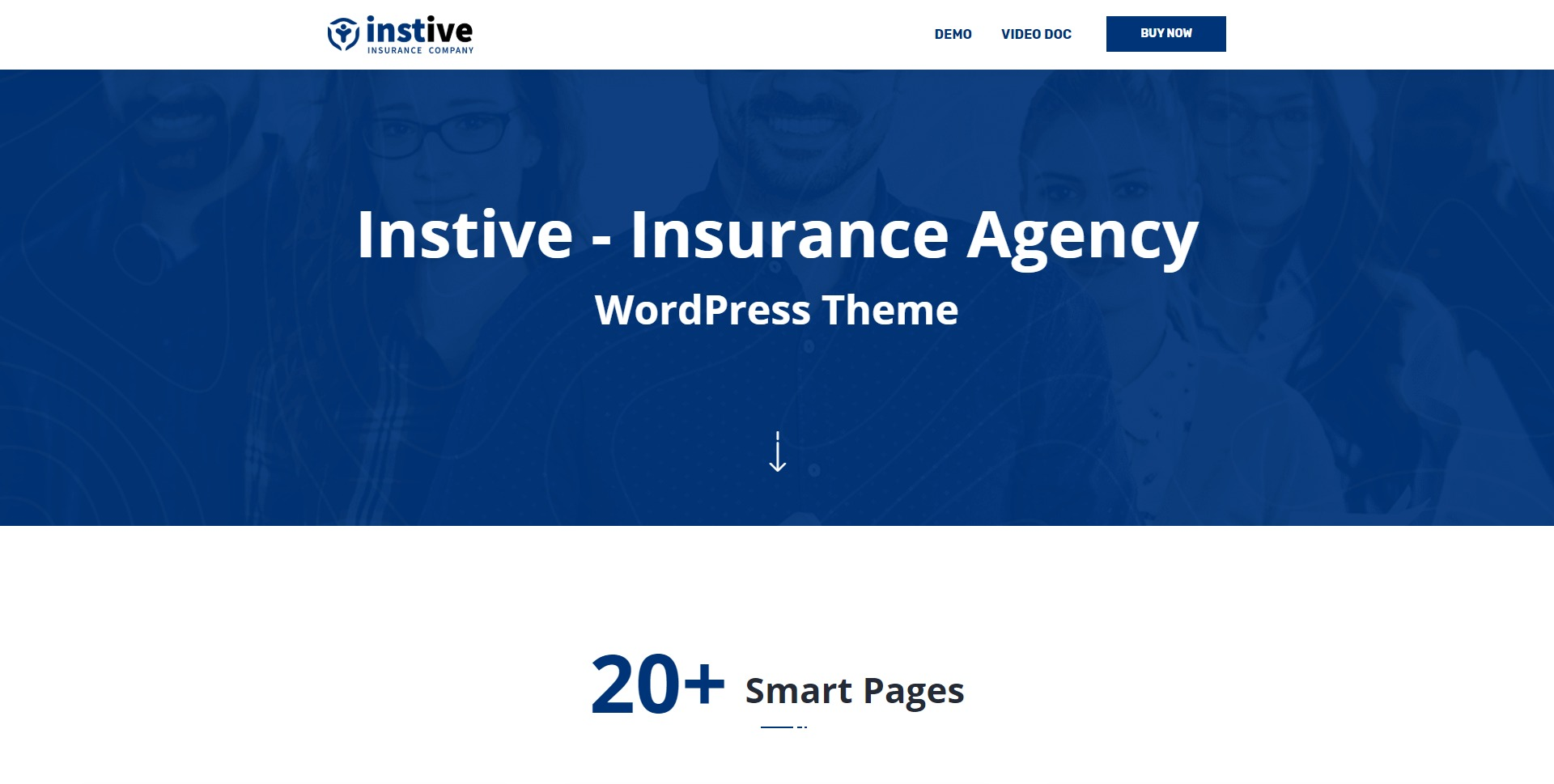 Instive-金融保险咨询行业WordPress主题
