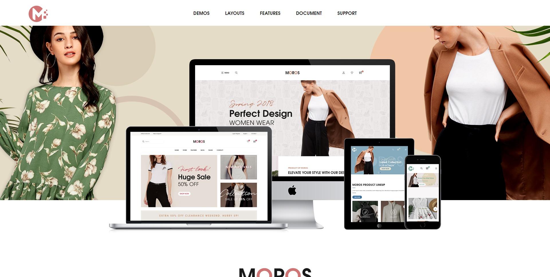 Moros-服装服饰在线商城WordPress主题