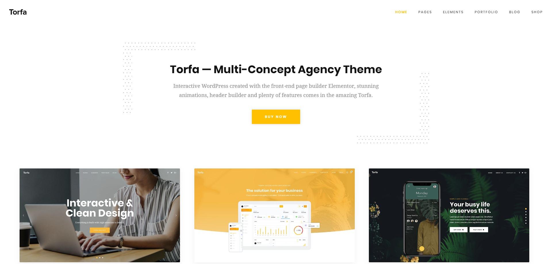Torfa-可视化摄影博客图片企业WordPress主题
