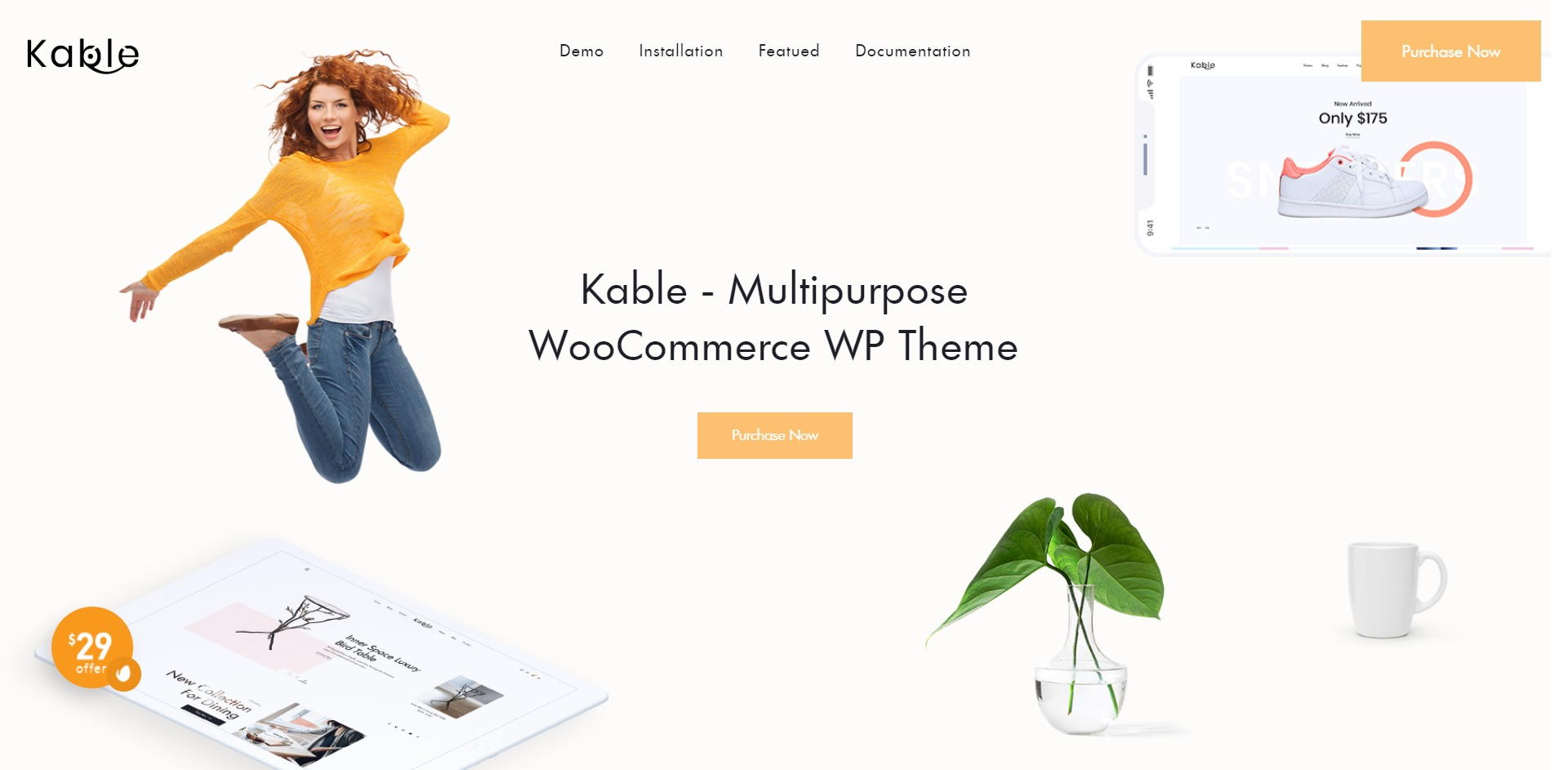 Kable-多行业在线购物商城WordPress主题
