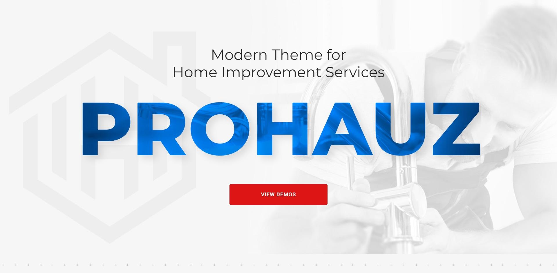 ProHauz-上门维修水电施工WordPress主题