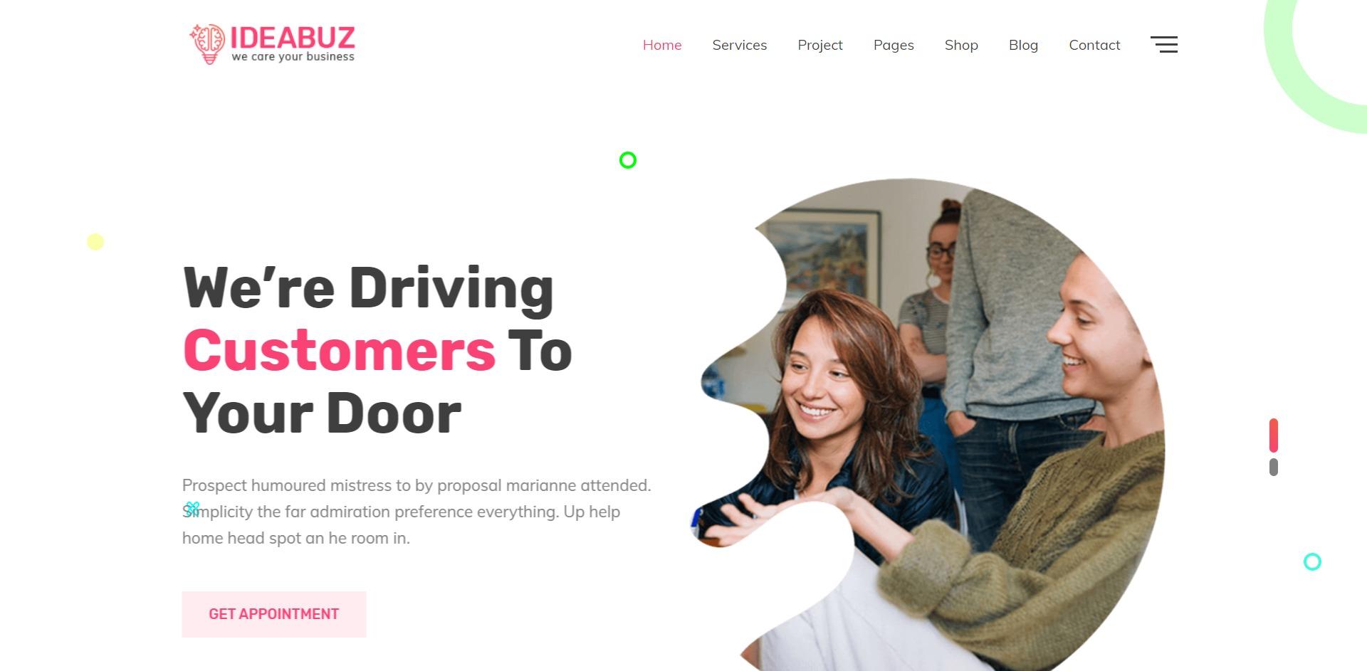 Ideabuz-多功能设计数字代理企业WordPress主题