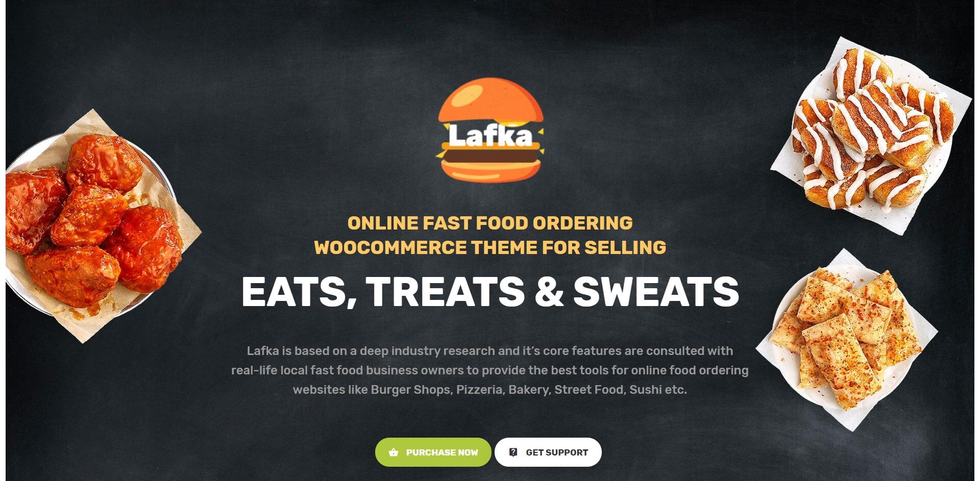 Lafka-汉堡披萨快餐外卖WordPress主题