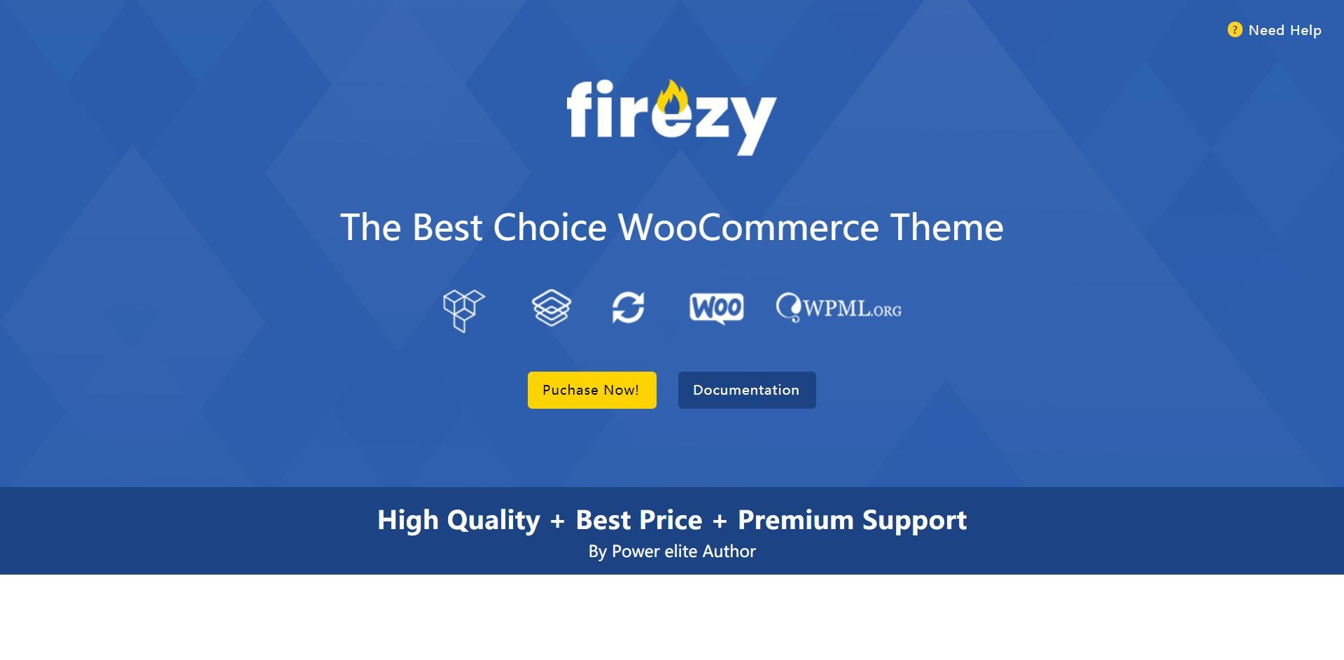 Firezy-多行业在线购物商城WordPress主题