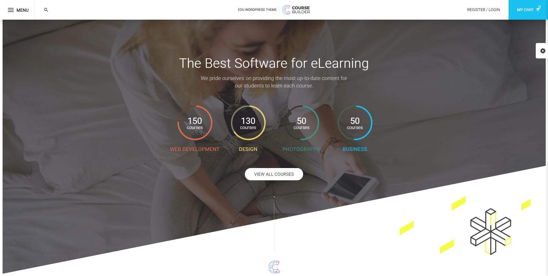CBKit-在线培训课程学习教育WordPress主题