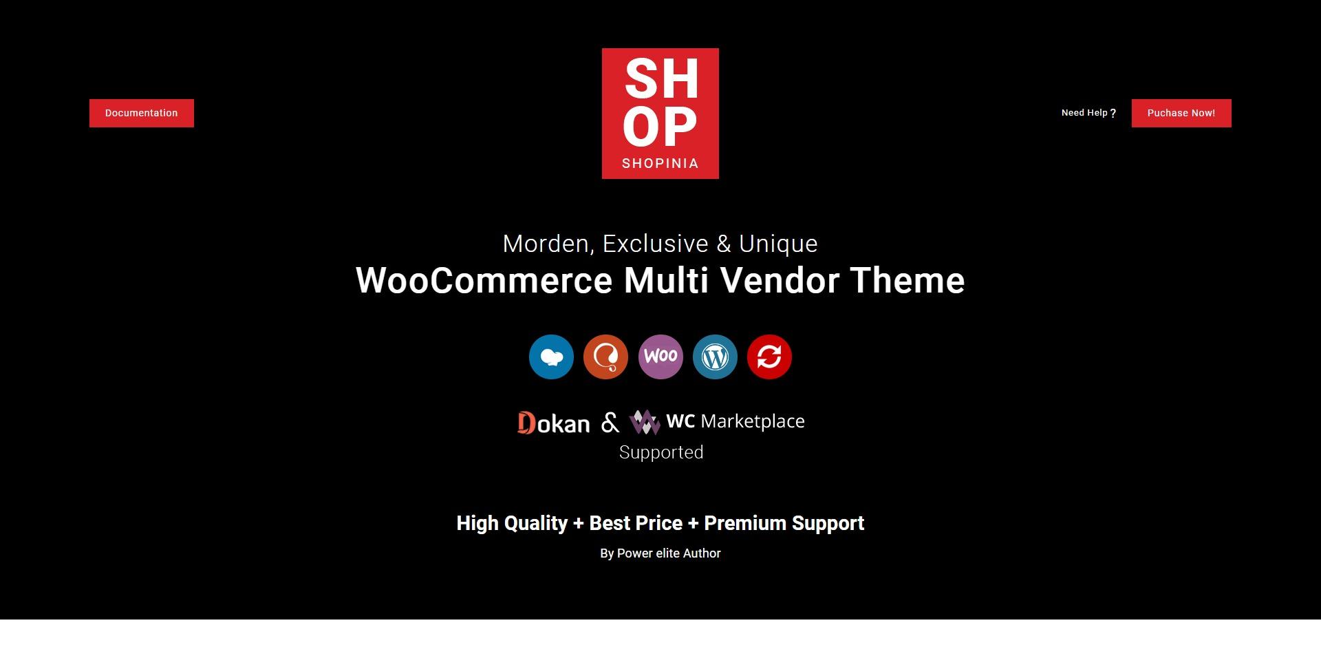 Shopinia-多功能在线购物商城WordPress主题