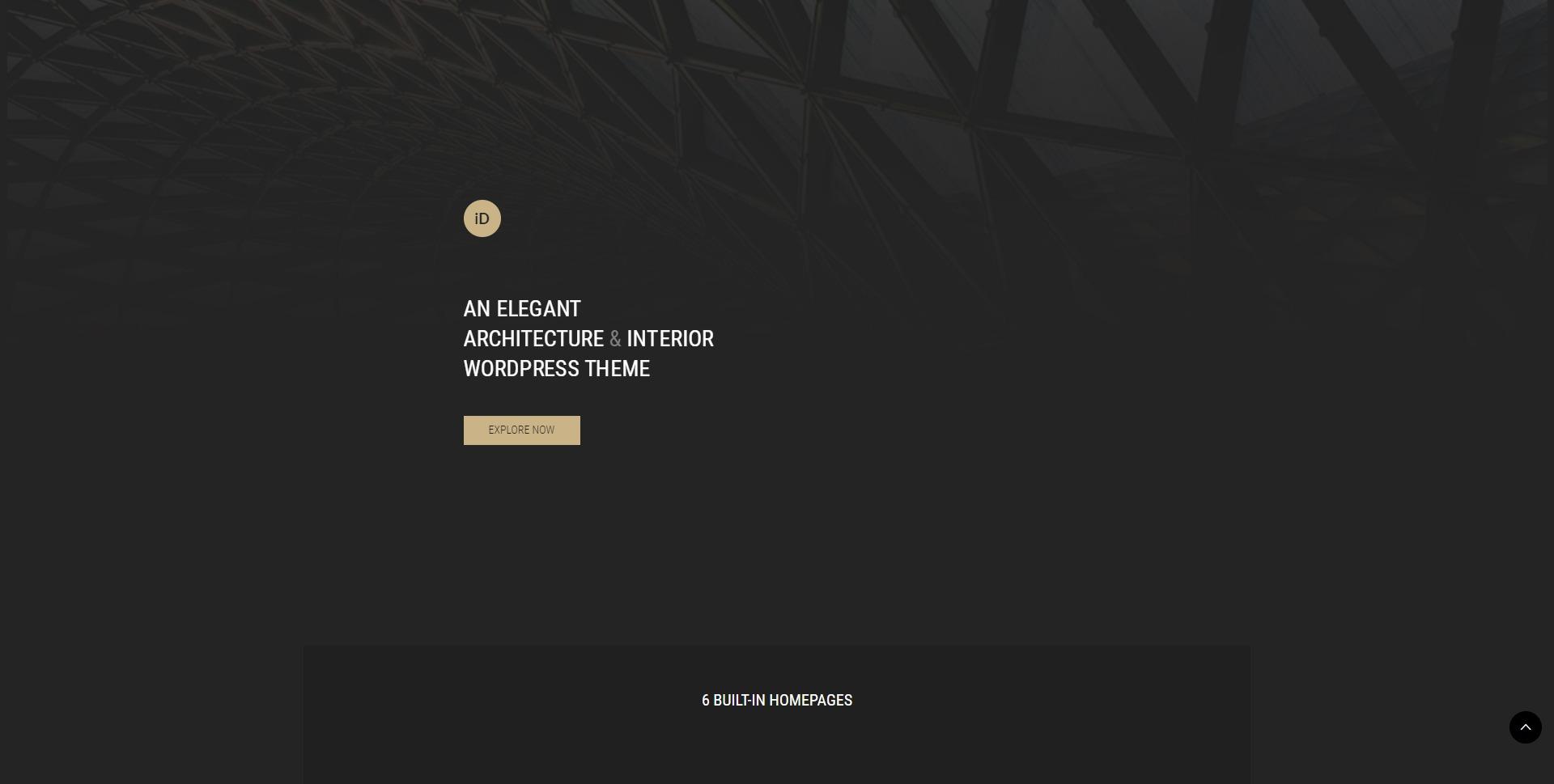 Insidect-室内装修建筑设计效果展示WordPress主题