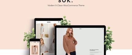Sok - 现代时尚服饰在线商城WordPress主题