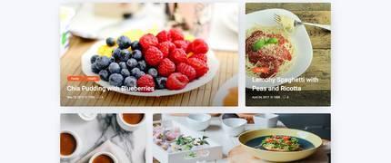 Bizi-网红餐饮美食食谱点评博客WordPress主题