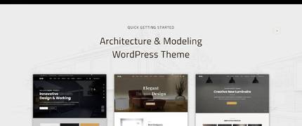 BIM - 室内设计工作室建筑响应式WordPress主题