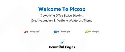 Picozo 房产中介联合办公空间WordPress主题
