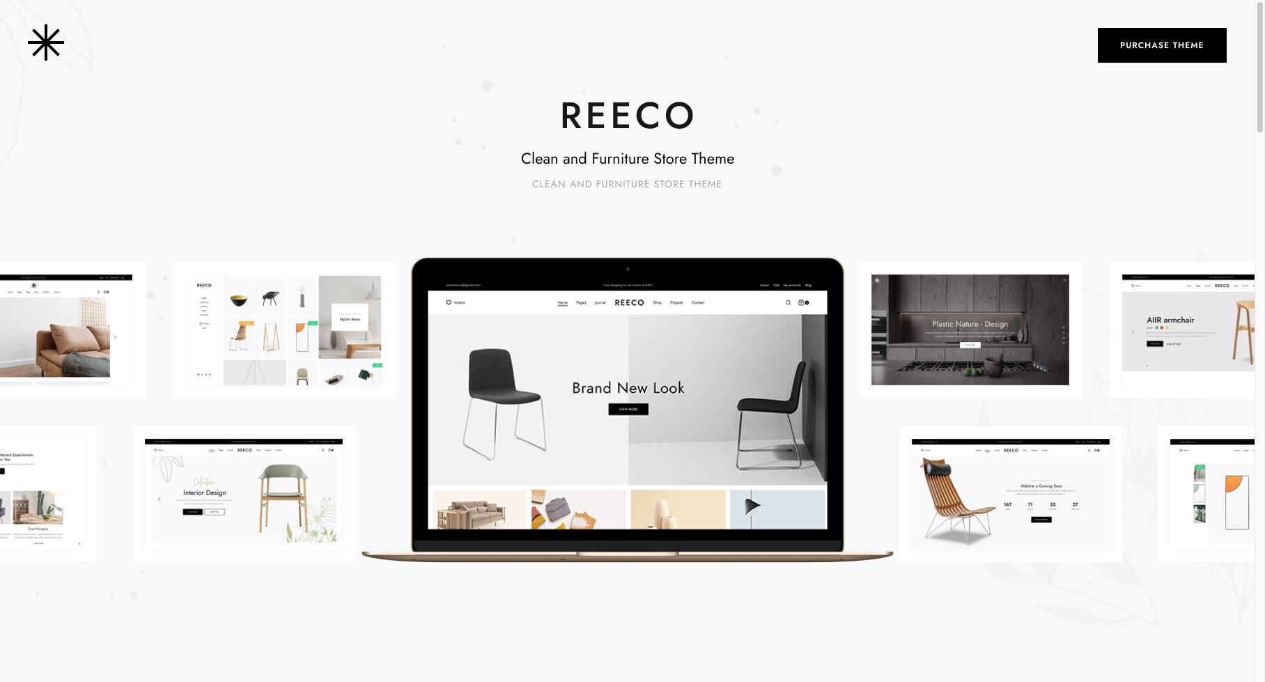 Reeco-家具用品网店商城模板WordPress主题