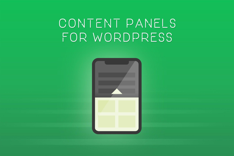 弹出式滑动面板WordPress插件