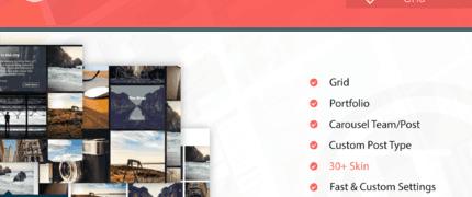 图片自定义网格Wordpress插件