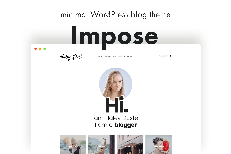 Impose Blog - 个人博客WordPress主题模板