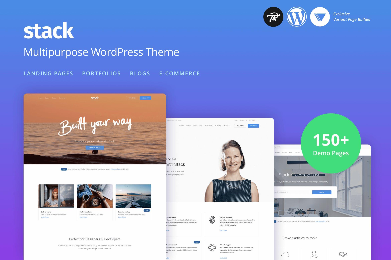 Stack - 多用途响应式WordPress主题模板