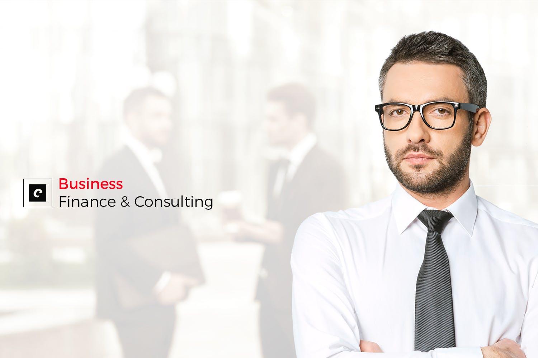 Copious - 多功能金融业务工业产品HTML5网页模板