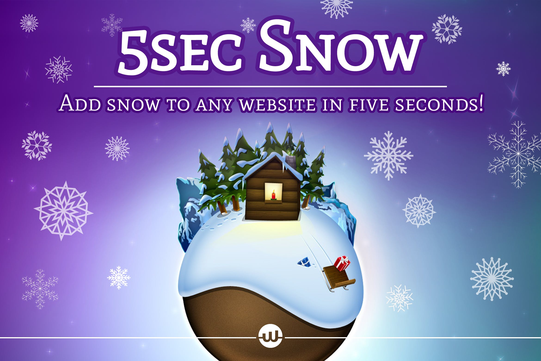 圣诞节下雪WordPress插件