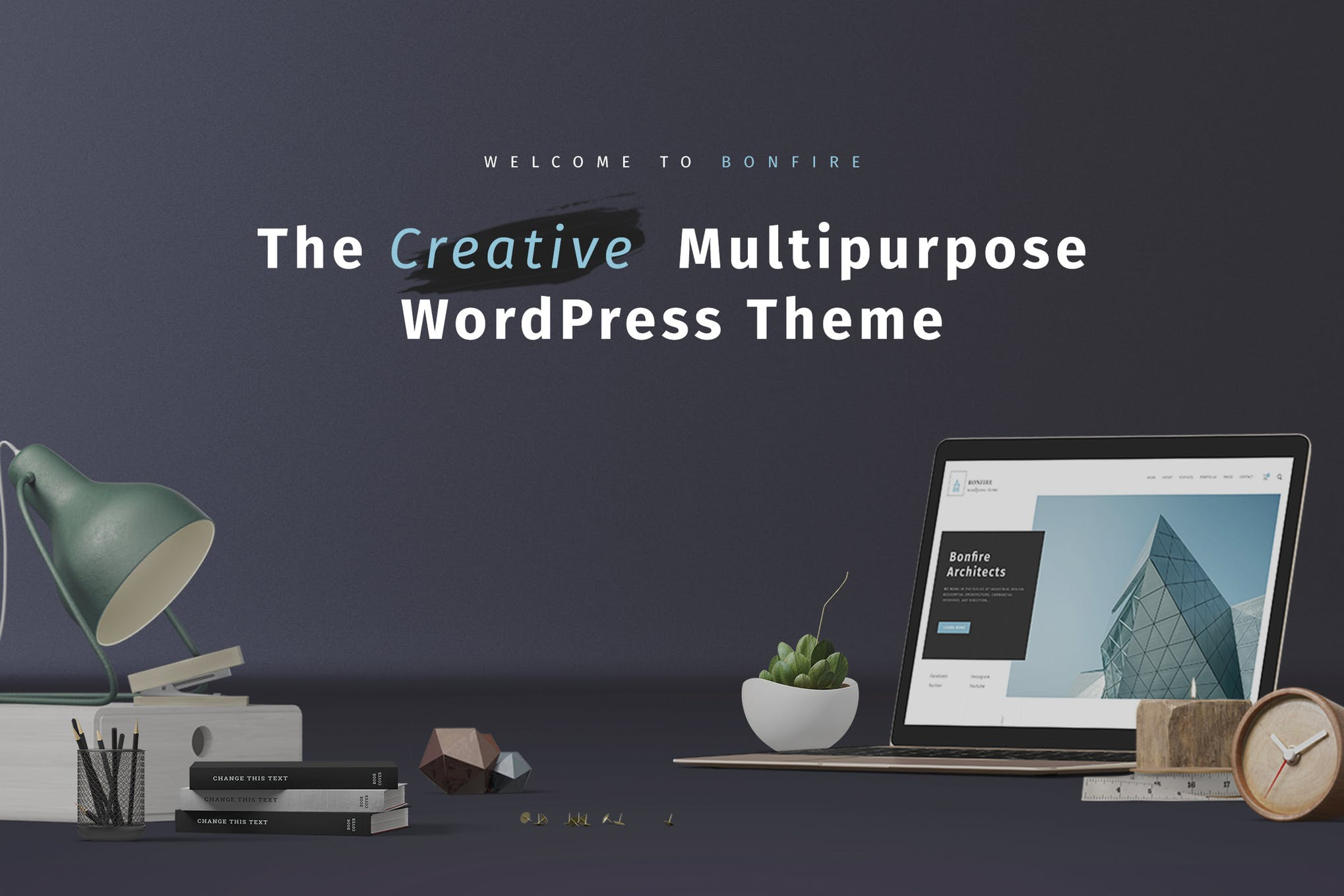 Bonfire - 创意多用途WordPress主题模板