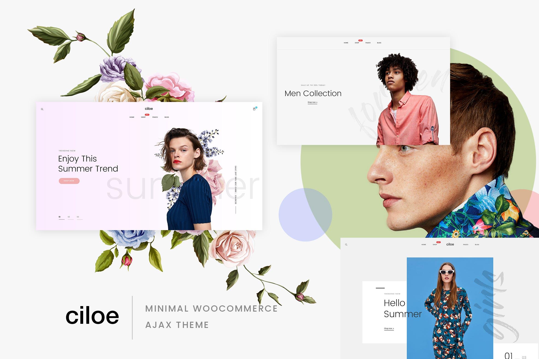 Ciloe - 多用途时尚服装商城WordPress主题模板
