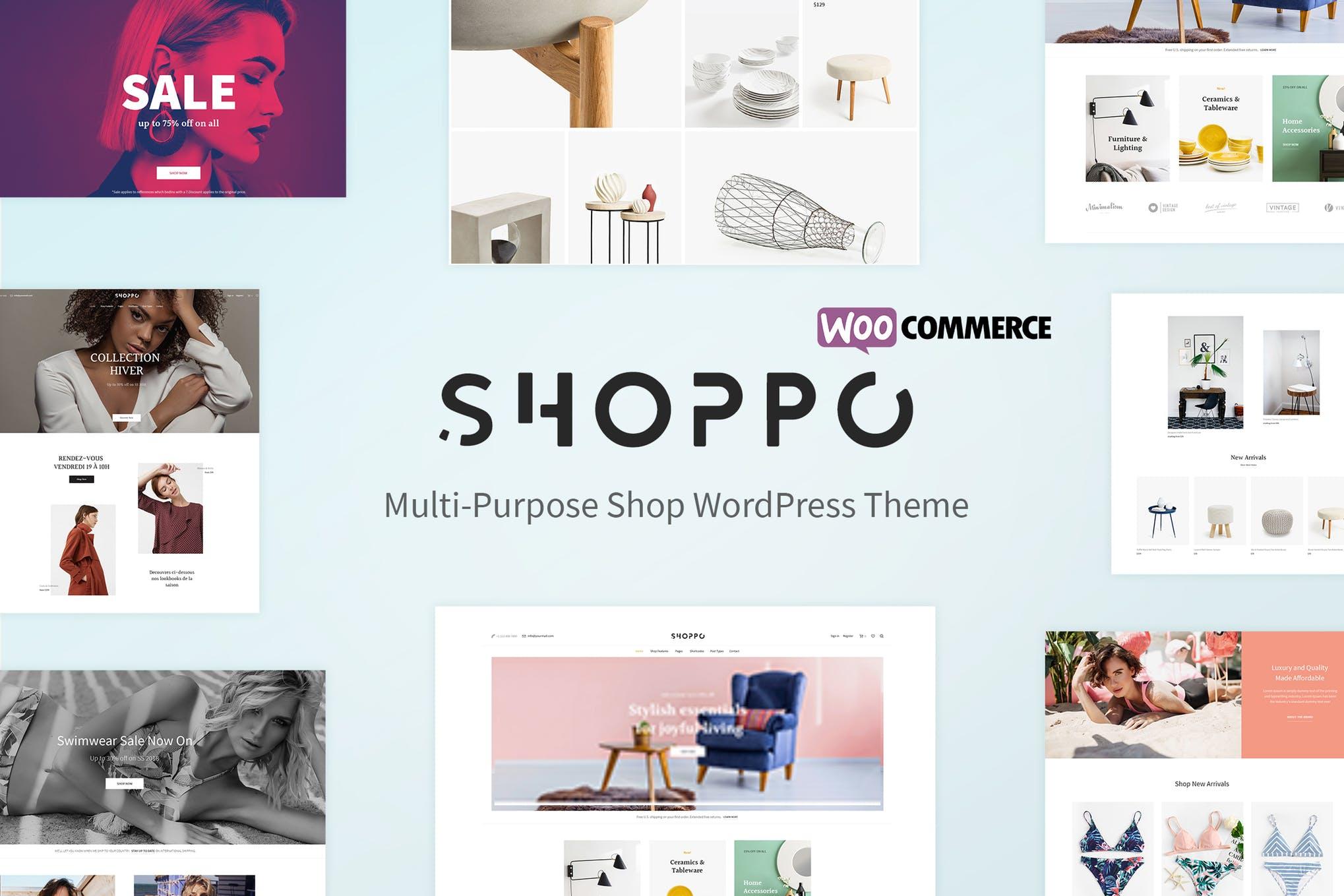 Shoppo - 多功能电子商务商城WordPress主题模板