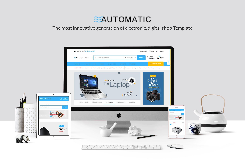 Automatic - 线上商城WordPress主题模板
