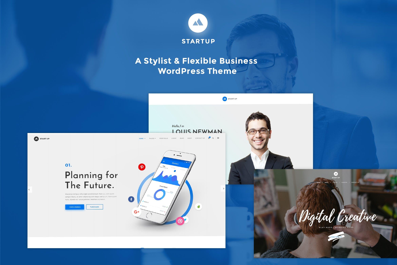 StartUp - 响应式展示商城WordPress主题模板
