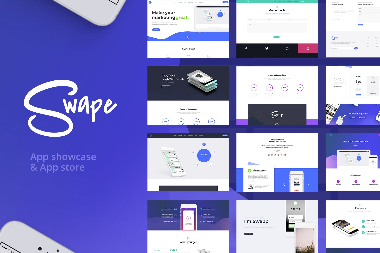 Swape-多功能响应式WordPress主题模板