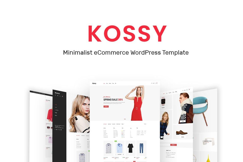 Kossy - 简洁服装电子商务WordPress主题模板