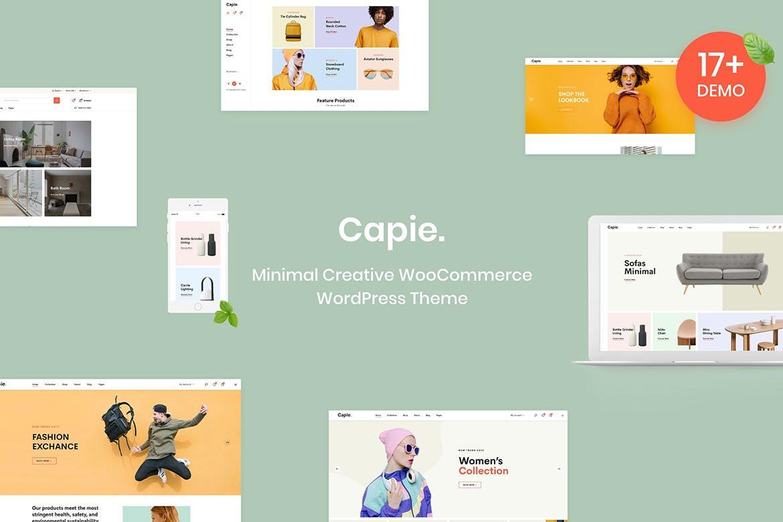Capie - 多功能商城WordPress主题模板